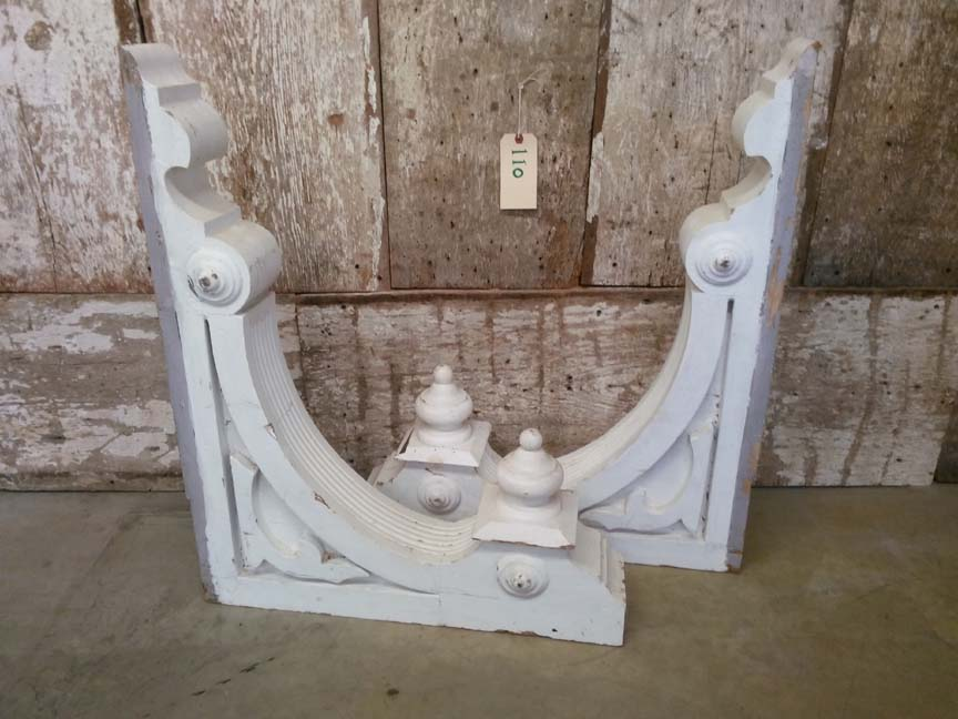 #110 Pair of Antique Corbels - $225