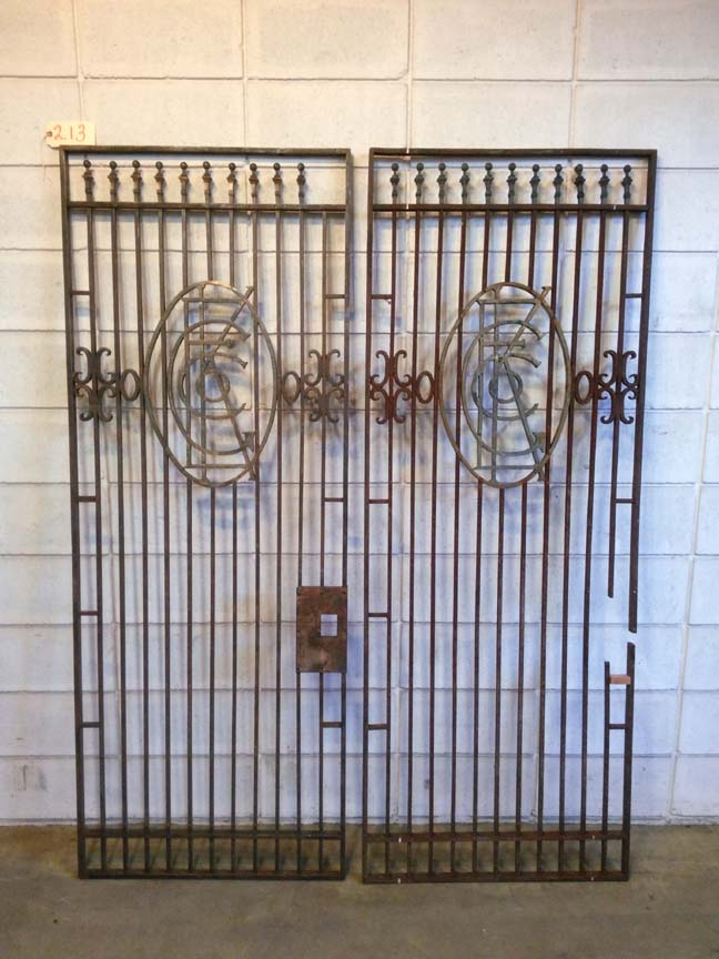 213 Vintage Steel Gates / Doors - $295 each