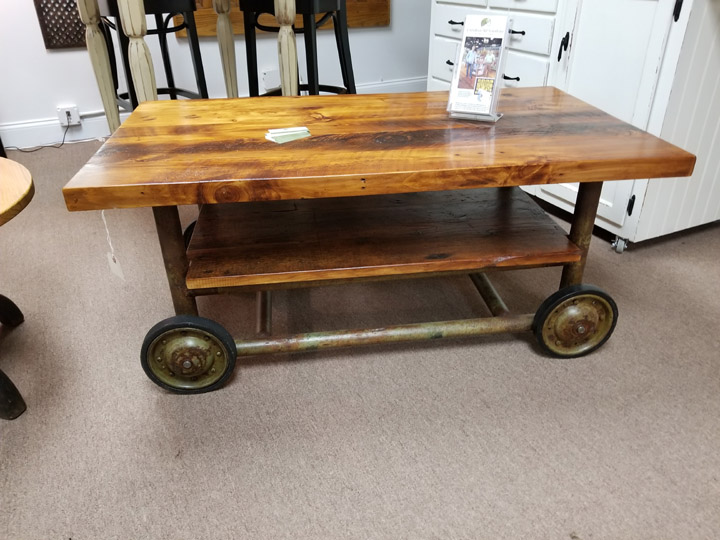 CT-52 Industrial Coffee Table ~ $1895