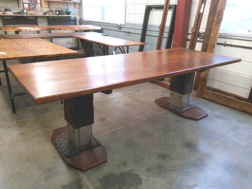 DT-98 Pine Top Trestle Table - $2595