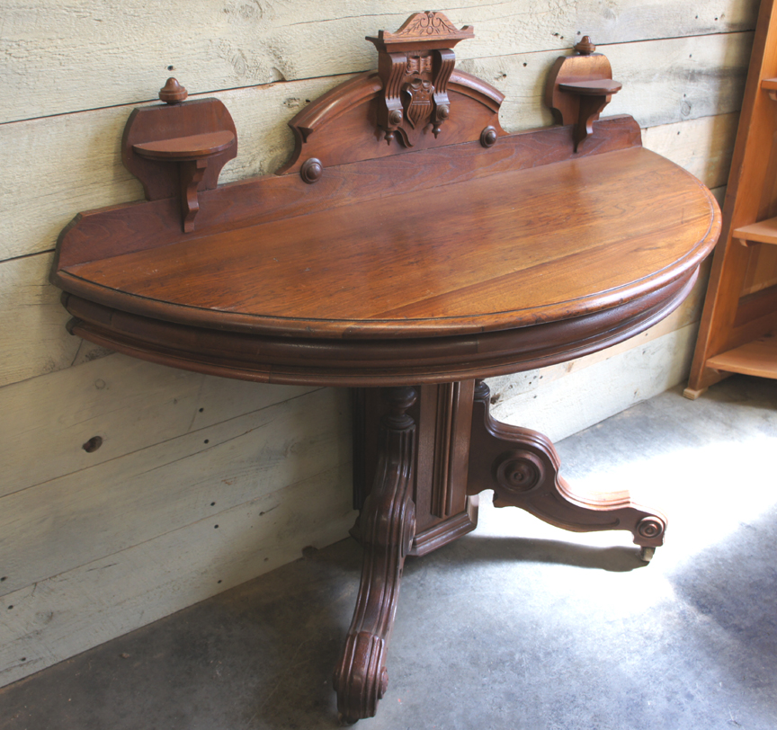 SP-63 VICTORIAN CONSOLE HALF TABLE ~ $895