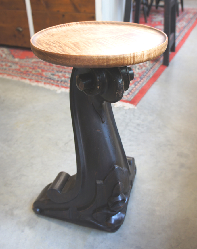 SP-71 UNIQUE TABLE WITH PIANO LEG ~ $425
