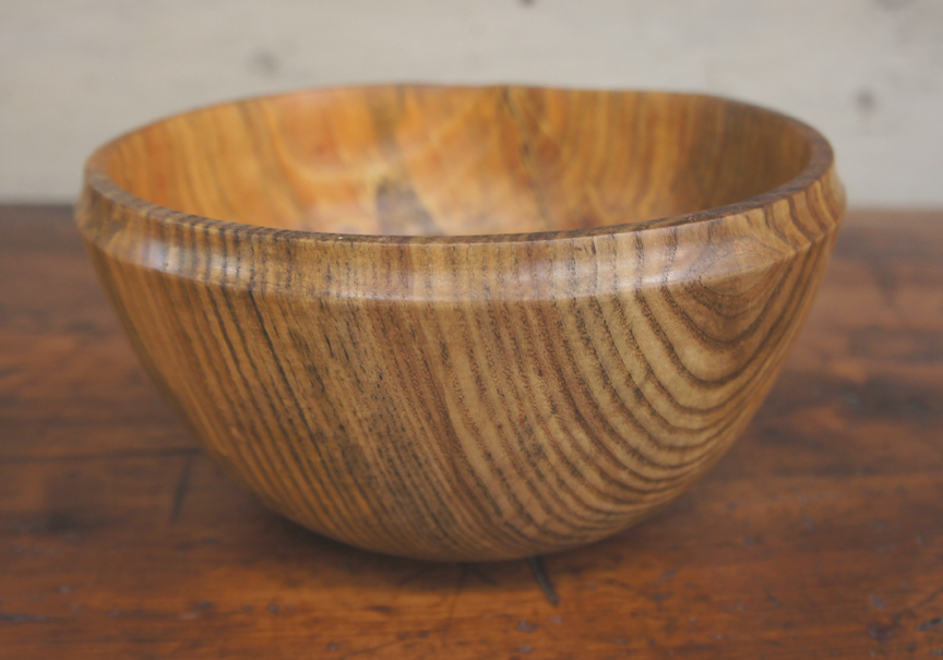 SSB-0341 Spalted Ash Bowl - $95